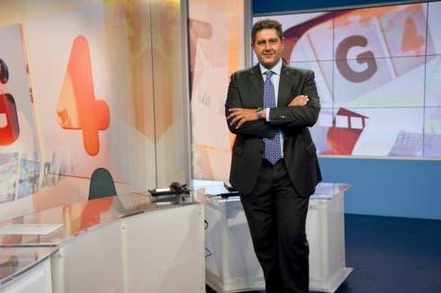 Giovanni Toti, direttore Tg4 e Studio Aperto