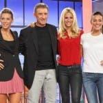 Giulia Calcaterra, Ezio Greggio, Michelle Hunziker, Alessia Reato