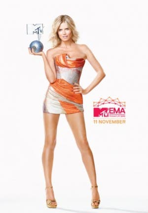 Heidi Klum - MTV EMA 2012