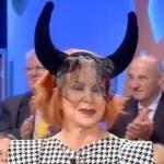 Marina Ripa di Meana a Mattino Cinque