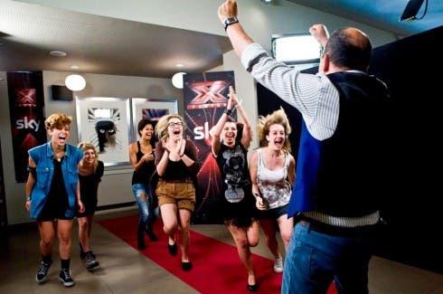 X Factor 6 - Categoria Under Donne ad Elio