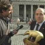 Valerio Staffelli, Antonio Di Pietro attapirato