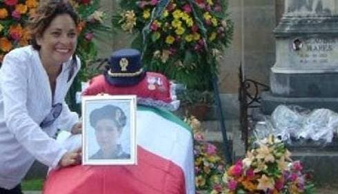 Funerale di Claudia Mares in Squadra Antimafia 4