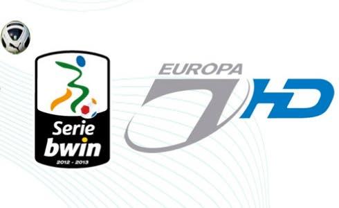 La Serie B su Europa 7 HD