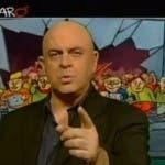 Maurizio Crozza copertina ballarò del 6 novembre 2012