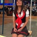 Victoria Cabello in versione Minetti