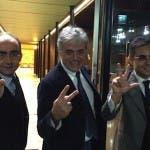 Giancarlo Leone, Angelo Teodoli, Andrea Vianello