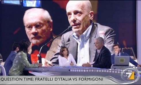 Roberto Formigoni ospite del Cristina Parodi Live