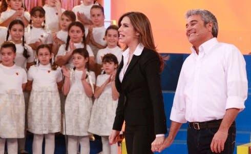 Veronica Maya e Pino Insegno