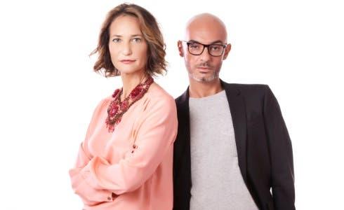 Uberta Zambetti e Danilo Di Pasquale, conduttori di School of Glam