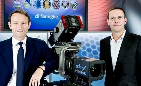 Sky Italia: Andrea Zappia e James Murdoch