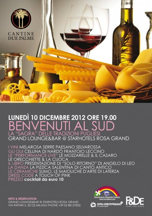 Benvenuti al Sud - DM Xmas Cocktail 2012