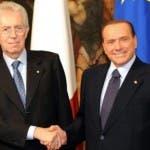 Silvio Berlusconi, Mario Monti