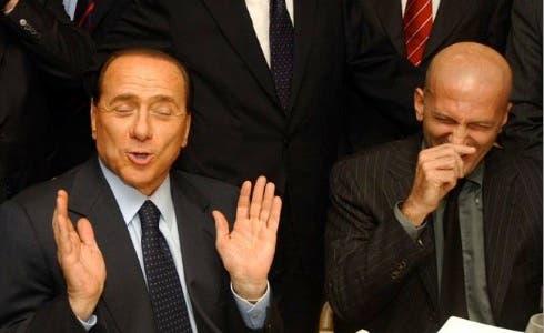 Silvio Berlusconi e Augusto Minzolini