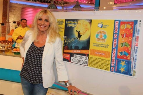 Antonella Clerici - Lotteria Italia 2012