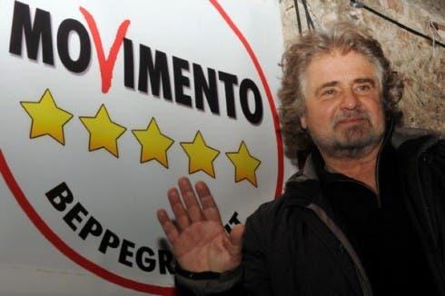 Beppe Grillo - Movimento 5 Stelle