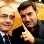 Giancarlo Leone e Max Giusti