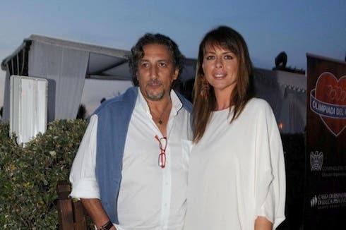 Lucio Presta con Paola Perego