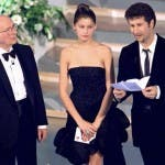 Laetitia Casta, all'Ariston nel 1999