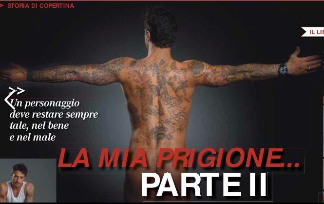 Fabrizio Corona Nudo