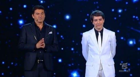 Teo Mammucari con il vincitore Sas Petrosyan Jr