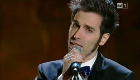 Antonio Maggio a Sanremo 2013