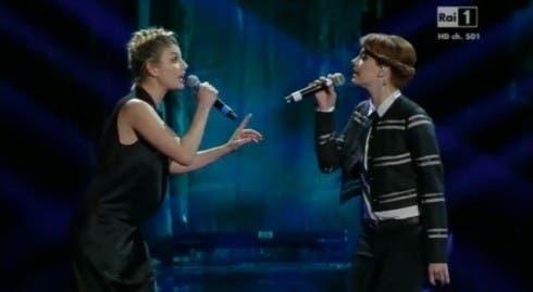 Sanremo 2013 - Emma Marrone e Annalisa Scarrone