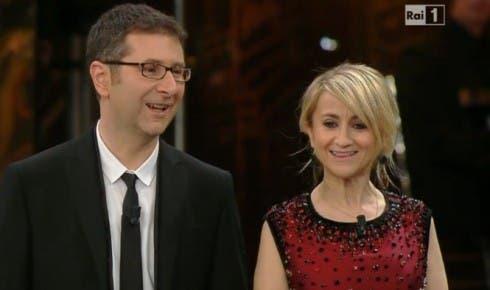 Fabio Fazio e Luciana Littizzetto a Sanremo