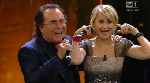 Sanremo 2013 - Luciana Littizzetto e Albano