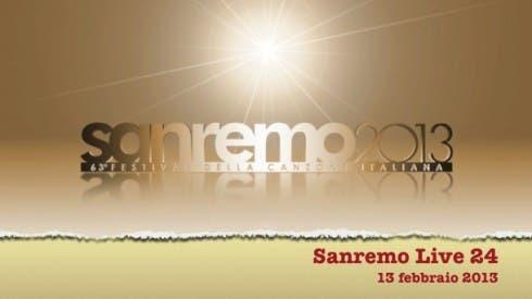 Sanremo Live 24 - 13 febbraio 2013