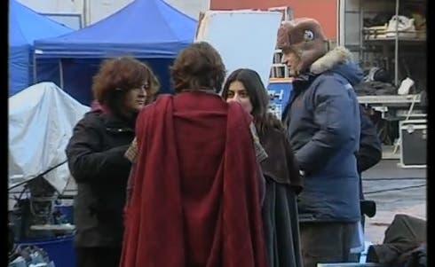 Il dietro le quinte delle riprese della fiction Romeo e Giulietta