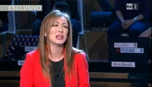 Virginia Raffaele imita Francesca Pascale