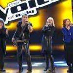 i quattro coach di The Voice