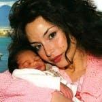 Raffaella Fico e la figlia Pia