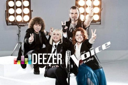 The Voice e Deezer