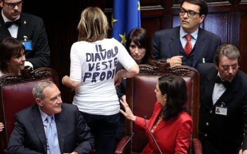Alessandra Mussolini - Il Diavolo veste Prodi