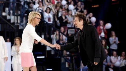 Amici 2013 Serale - Terza Puntata - Maria De Filippi con Al Pacino