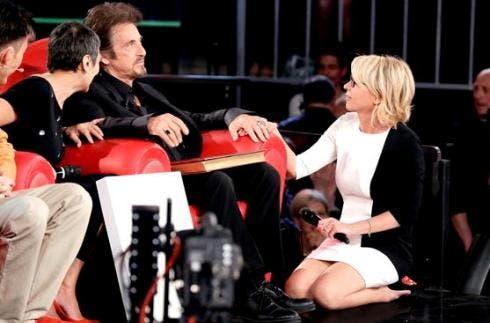 Maria de Filippi e Al Pacino