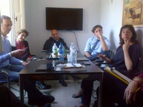 Il team del talk generazionale di David Parenzo