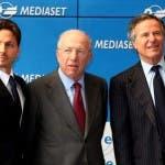 Piersilvio Berlusconi, Fedele Confalonieri, Giuliano Adreani