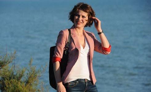 Barbora Bobulova in Il Commissario Montalbano (foto Fabrizio di Giulio)