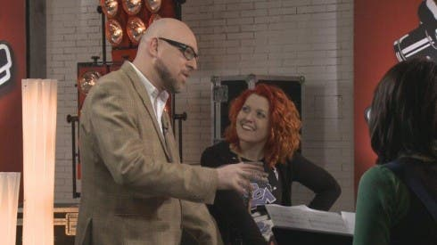 Noemi con Mario Biondi a The Voice