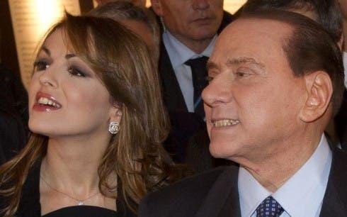 Silvio Berlusconi e Fancesca Pascale