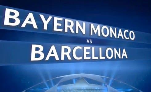 Champions League: Bayern Monaco - Barcellona