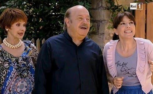 Beatrice Fazi, Lino Banfi e Milena Vukotic
