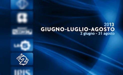 Italia 2 - Palinsesto estate 2013