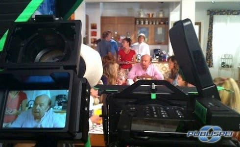 Un Medico in famiglia 8 - Backstage