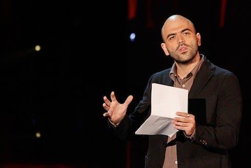 Roberto Saviano ospite di Servizio Pubblico