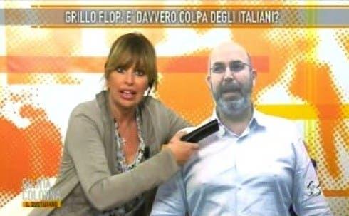 Alessandra Mussolini - Vito Crimi (cartonato)