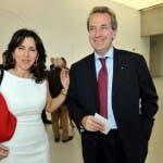 Annalisa Bruchi con il marito